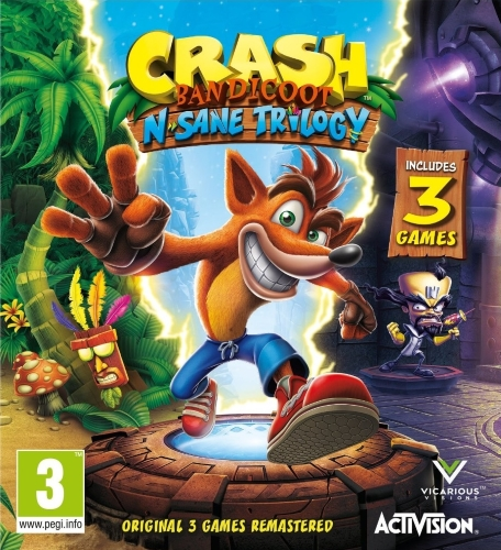 Crash Bandicoot™ N. Sane Trilogy (2018 г) RePack от xatab
