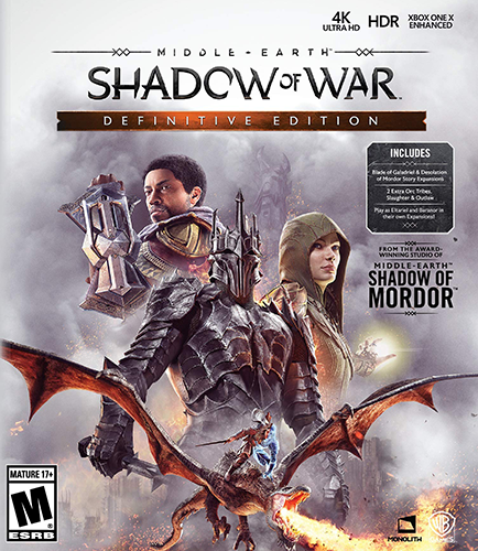 Middle-earth: Shadow of War - Definitive Edition [v 1.21 + DLCs]