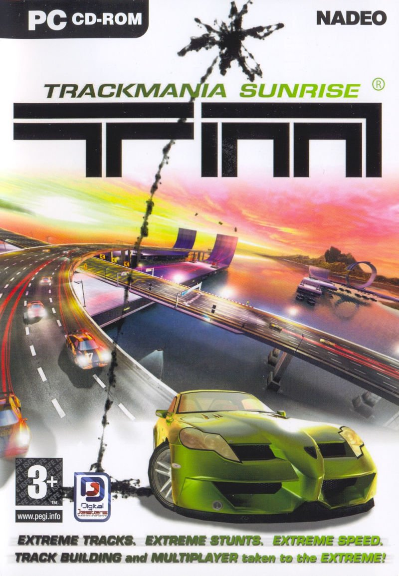 TrackMania Sunrise + TrackMania Sunrise eXtreme v.1.5.1 [Бука] (2005) PC | Лицензия